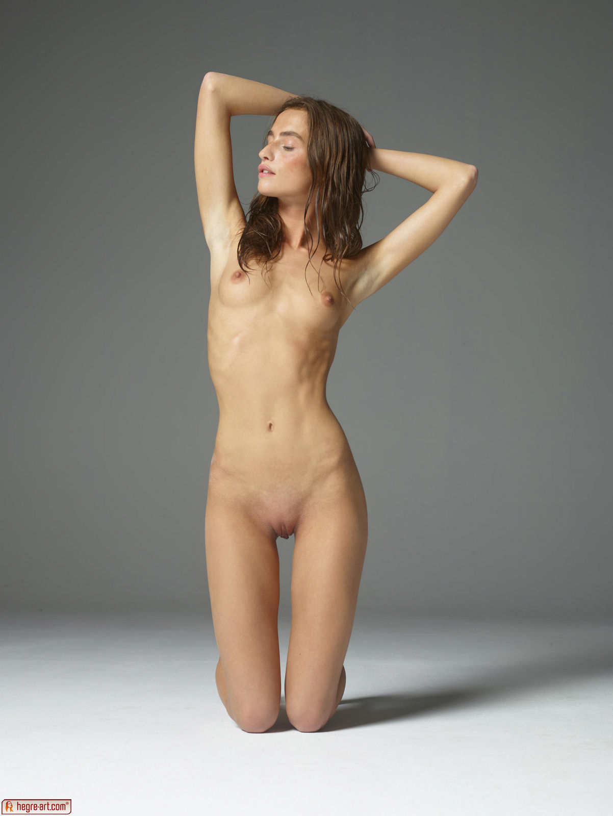 фото очень худых голых девчонок
